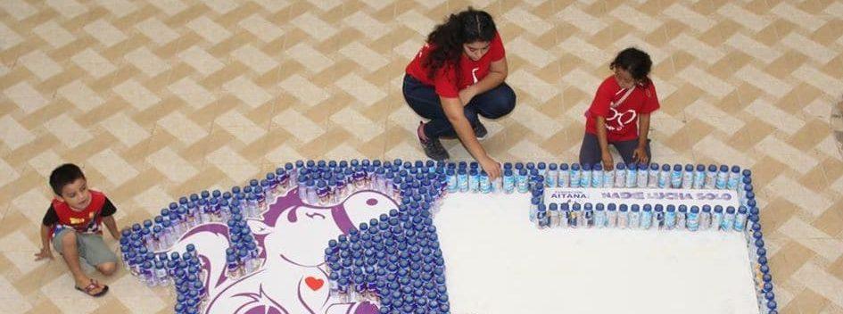 Fundación Aitana A.C. | En #UnDíaParaDar juntamos 1,022 suplementos alimenticios para niños con cáncer