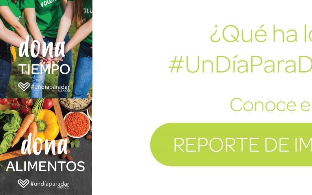 ¿Qué pasó en #UnDíaParaDar 2019? ¡Conoce nuestro nuevo Reporte de Impacto!